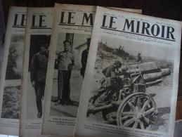 LE MIROIR  (Publication Hébdomadaire)1915/ 1917 - 1914-18