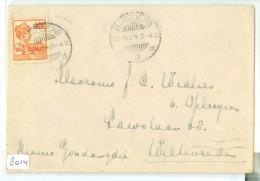 NED. INDIE * BRIEFOMSLAG Uit 1924 Van BANDOENG Naar WELTEVREDEN (8014) - Netherlands Indies