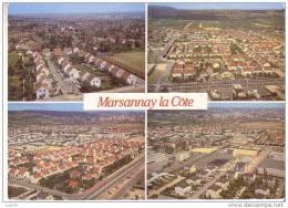 MARSANNAY LA COTE - 4 Vues : Vues Générales - Champagne Haute Et Bourg - Andere Gemeenten