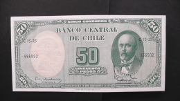 Chile - 5 Centesimos - 1960-61 - P 26b - Unc - Look Scan - Chile