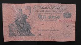 Argentinia - 1 Peso - 1948 - P 257.1 - F - Look Scan - Argentinien