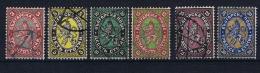 Bulgaria: 1881 Mi Nr 6 - 11 Used - Gebruikt