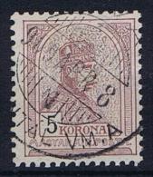 Hungary: 1900 Mi Nr 70 A  Used
