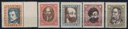 Hungary: 1919 Mi Nr 261 - 265 MNH/MH   ** And *