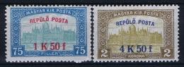 Hungary: 1918 Mi Nr 210 - 211, MNH/** - Hongarije