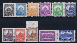 Hungary: 1924 Mi Nr 411 - 422 , MNH/**