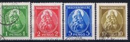 Hungary: 1932 Mi Nr 484 - 487 Used