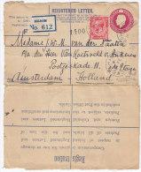 2200. England, 1931, Balham - Amsterdam, R-letter - 1902-1951 (Kings)