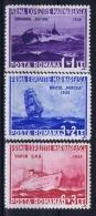 Romenia: 1936, Mi Nr 519 - 521, MNH/**, Ships - 1918-1948 Ferdinand, Carol II & Michael
