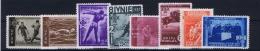 Romenia: 1937, Mi Nr 528 - 535 , MNH/** - 1918-1948 Ferdinand, Carol II & Michael