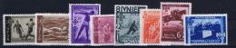 Romenia: 1937, Mi Nr 528 - 535 , MNH/** - Unused Stamps
