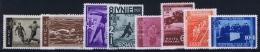 Romenia: 1937, Mi Nr 528 - 535 , MNH/** - 1918-1948 Ferdinand, Carol II. & Mihai I.