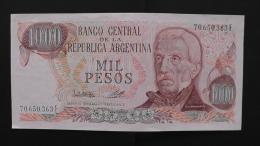 Argentinia - 1000 Pesos - 1976 - P 304a - Unc - Look Scan - Argentinien