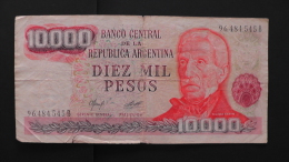 Argentinia - 10000 Pesos - 1976-83 - P 306a - F - Look Scan - Argentinien