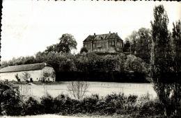 CPSM  STRENQUELS      Le Chateau De Langlade Et Une Ferme Plus Bas - Frankrijk