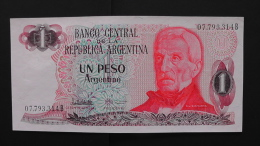 Argentinia - 1 Peso Argentino - 1976-83 - P 311a - Unc - Look Scan - Argentinien
