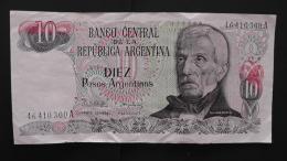 Argentinia - 10 Pesos Argentinos - 1983-84 - P 313a2 - VF - Look Scan - Argentinien