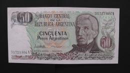 Argentinia - P 314a - 50 Pesos Argentinos - 1983-84 - Unc - Argentinien