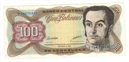 100 Bolivares, 1998VF+. - Venezuela