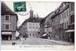 Héricourt (Haute-Saône)  L'Hôtel-de-Ville. - Francia