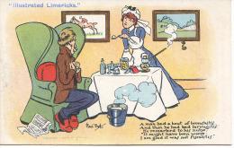 POLITICAL - FISCALITIS - ILLUSTRATED LIMERICKS By RENE BULL - Satirical
