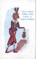 POLITICAL - PUSSYFOOT PROHIBITIONISM 1922 - Satirical
