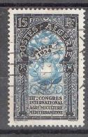 Algérie, 1954, Yvert N° 311: 3 E Congrès D'Agrumiculture; Orange, Citron, Obl, TB - Frutas