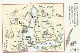 Finland    Map   # 738 # - Geographie