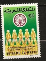 Maroc 1986 N° 1014 ** FAO, Famine, Alimentation, Faim, Céréale, Epi, Blé, Champ, Agriculture - Morocco (1956-...)
