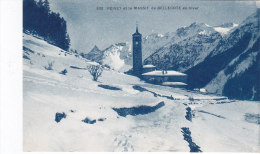 Peisey  Et Le Massif De Bellecote En Hiver - France