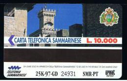 07 - SAN MARINO - TESSERA TELEFONICA NO. 24  NUOVA - Saint-Marin