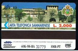07 - SAN MARINO - TESSERA TELEFONICA NO. 25  NUOVA - San Marino