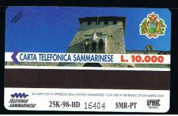 07 - SAN MARINO - TESSERA TELEFONICA NO. 28  NUOVA - San Marino