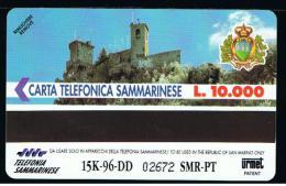 07 - SAN MARINO - TESSERA TELEFONICA NO. 14  NUOVA - Saint-Marin