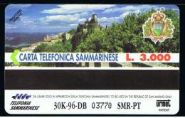 07 - SAN MARINO - TESSERA TELEFONICA NO. 12  NUOVA - San Marino