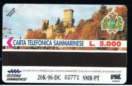 07 - SAN MARINO - TESSERA TELEFONICA NO. 13  NUOVA - San Marino