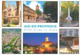 CPM - 13 - AIX EN PROVENCE - Multivues (Sté PEC) - Aix En Provence