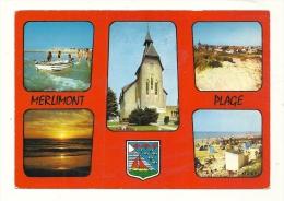 Cp, 62, Merlimont, Multi-Vues, Voyagée 1978 - Autres Communes