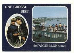 Cp, 85, La Faute - L'Aiguillon-sur-mer, Le Port De L'Aiguillon-sur-mer, écrite - Other Municipalities