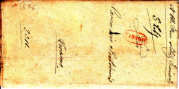 POLAND 1836 TARNOW To KROSNO Full Letter - Pologne