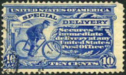 US E6 Used 10c Special Delivery From 1902 - Special Delivery, Registration & Certified