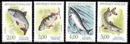 France Set Of 4 Local Fish  2227 - Nuevos