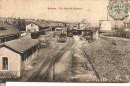 ROBINSON: La Gare De Robinson,  + Marcophilie O.A  Sceaux à Paris - Le Plessis Robinson