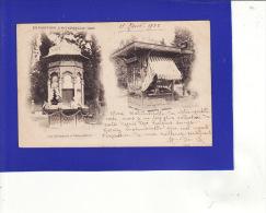 """+6982)  PARIS   EXPOSITION  UNIVERSELLE DE 1900  Les Kiosques  """"DOS SIMPLE""""  :  Très Très Bon état : 7 - Expositions"""
