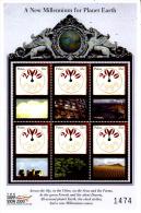 Palau 1499 / 04 ( Feuille Complète ) Passage à L'An 2000 II - Palau
