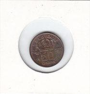 50 CENTIMES Bronze Baudouin I 1971 FR - 1951-1993: Baudouin I