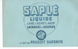 """Savon    """"   SAPLE   Liquide   """"   Saponite     -   Ft  =  21 Cm X 13.5 Cm - Wash & Clean"""