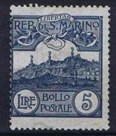 San Marino: 1903, Sa 45 , Mi 45MH/* Light Hinged - San Marino