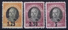 San Marino: 1927, Sa 130-132 , Mi 133-135 MH/* - San Marino