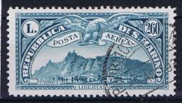 San Marino: 1931, Sa 5 , Mi 169, Airmail, Used - Posta Aerea